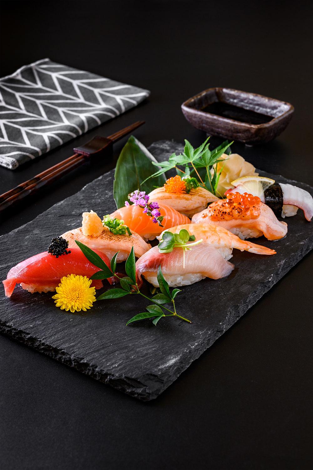Japanese Restaurant Chain Sushi Platter